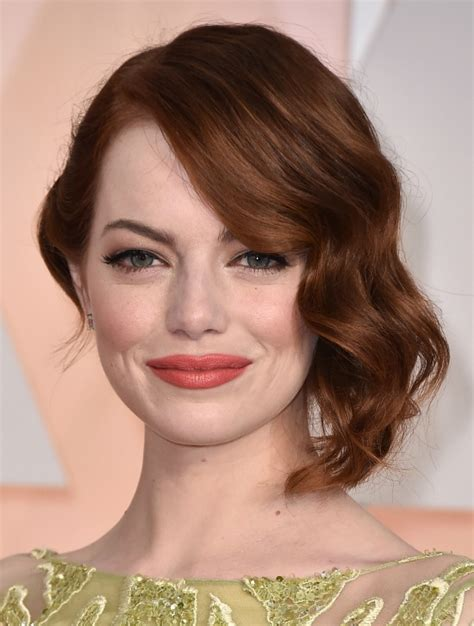 emma stone wavy hair 41 stunning emma stone hairstyles and haircut styles to