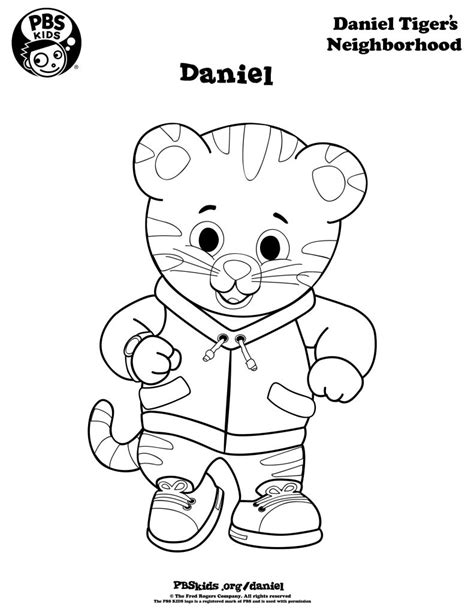 daniel tiger coloring pages best coloring pages for