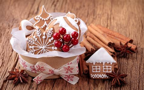 wallpaper christmas food good sweets for christmas full hd wallpaper and background