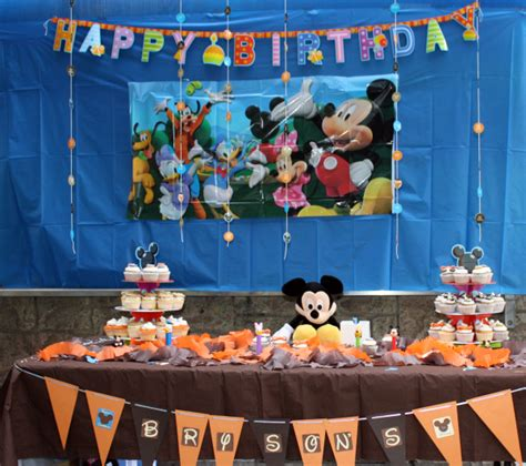 Creative Diy Mickey Mouse Clubhouse St  Ee  Birthday Ee   Party
