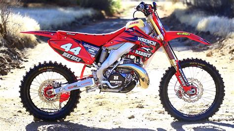 Honda 250 Dirt Bike by Project 2004 Honda Cr 250 Road 2 Stroke Hardware