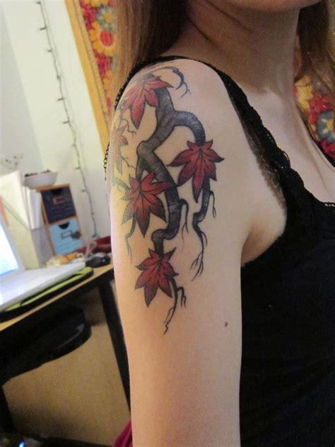 maple tree tattoo designs best 25 maple tree tattoos ideas on fall