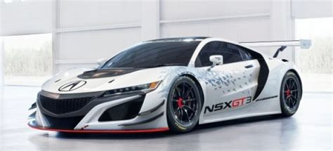 acura 2 seater 2017 acura nsx gt3 race car engine specs mph top speed