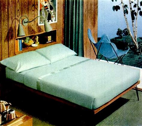 50er schlafzimmer early 50s bedrooms 1950 55 mid century living