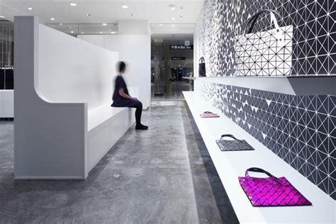 interactive interior facade at issey miyake shinjuku by