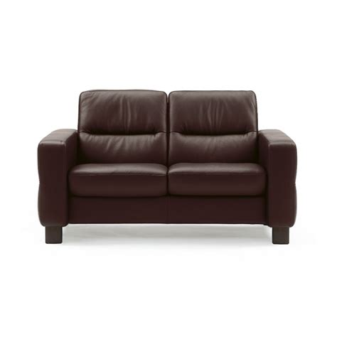 low loveseat wave loveseat low back by stressless