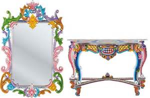 Wall Shelf Design Oriental Colorful Furniture Collection Ibiza By Kare
