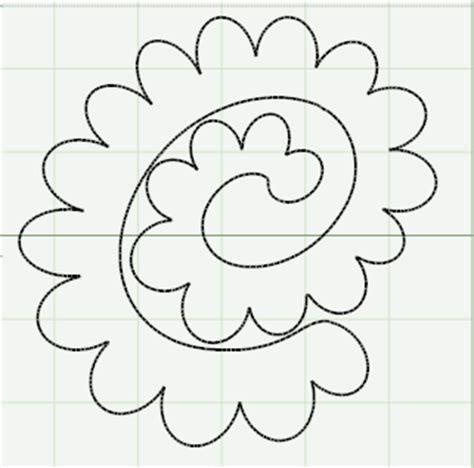 felt paper flower pattern capadia designs making paper roses more details