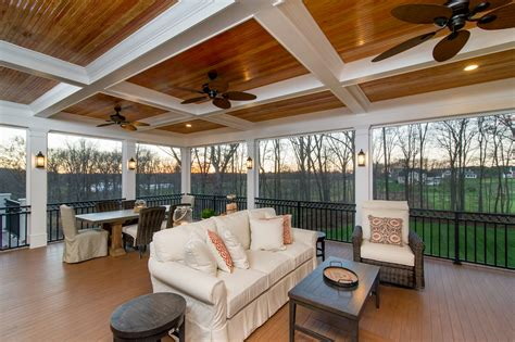 screened in porch designs with fireplace maryland west friendship screen porch builders