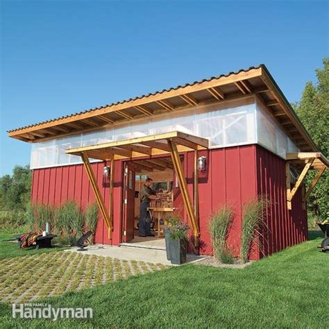 Family Handyman Shed by Workshop The Family Handyman