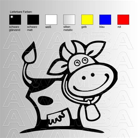 Autoaufkleber Cool by Autoaufkleber Autosticker Cool Cow Avamba Oldtimer