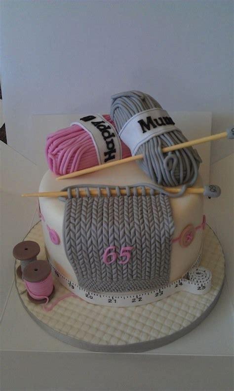knitting cake 16 creative craft themed cake and dessert ideas