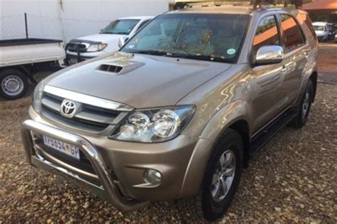suv toyota 2008 2008 toyota fortuner 3 0 d4d 4x4 suv cars for sale in