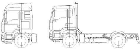 Daf Chassis Drawings