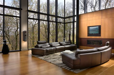 cool living rooms modern cool modern living room montreal by bruno