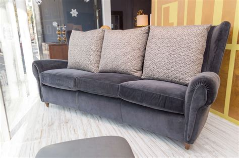 wingback loveseat sofa italian wingback sofa for sale at 1stdibs