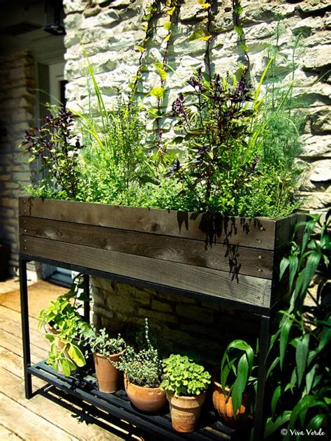 Raised Herb Planter Box by Pin By Slice Of Lime Photo On In The Garden