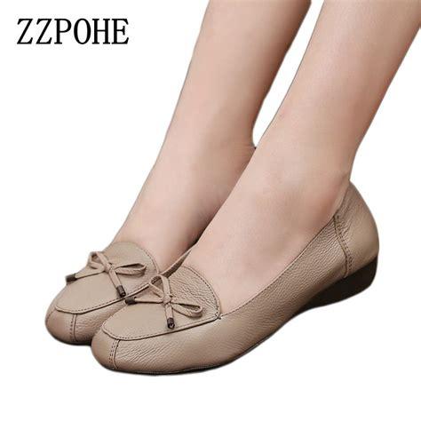 bottom flat shoes aliexpress buy zzpohe fashion shoes