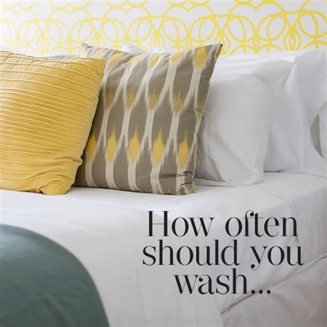 How Do You Wash A Pillow by How Often Should You Wash Your Pillows Cleaning Tips