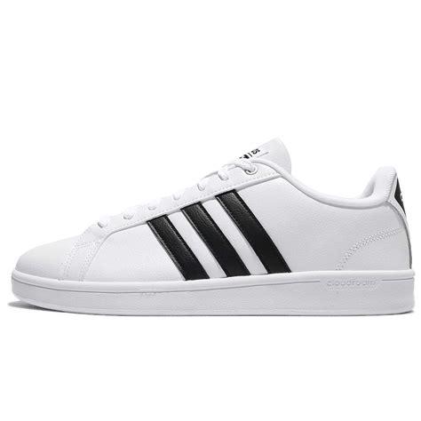 Adidas Advantage Leather adidas cf advantage cloudfoam white black leather