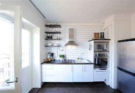 kitchen ideas for small apartments small but fantastic penthouse apartment in stockholm