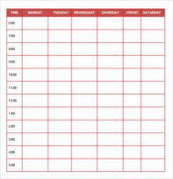 sales daily planner template free daily planner templates free printables word excel