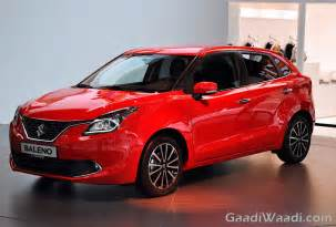 maruti suzuki baleno specification and variants details