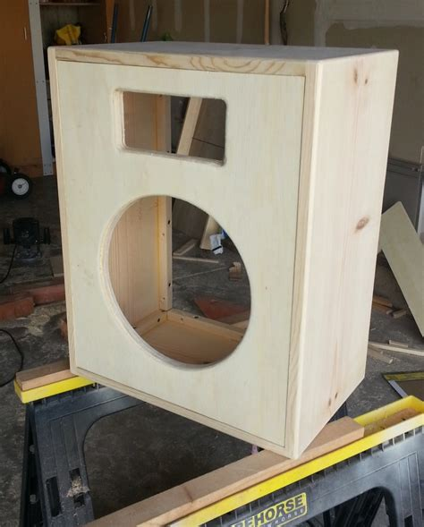 how to build a speaker cabinet building a 1x12 guitar speaker cabinet toddfredrich