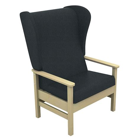 chair for back patient sunflower atlas bariatric high back patient chair with