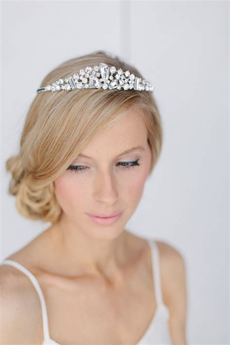 Wedding Hairstyles With Side Tiara by Wedding Side Hairstyles With Tiara Www Pixshark