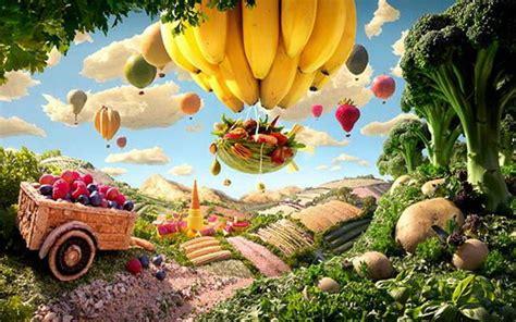 design art and food food art creation