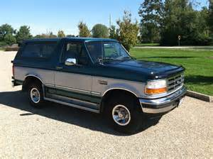 1996 Ford Bronco Xlt 1996 Ford Bronco Pictures Cargurus