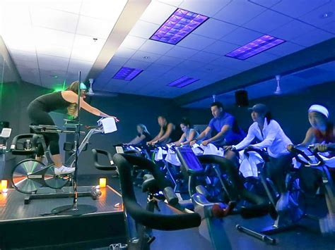 see why the indoor cycling studio has valley