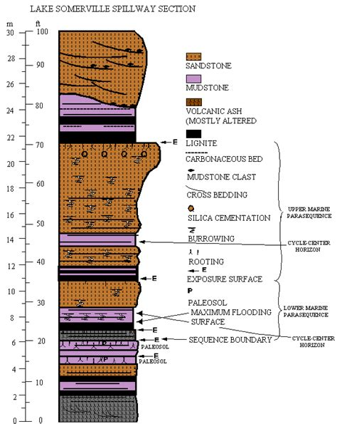 Stratigraphic Section by U S G S Open File Report 95 595 Chapter 1 Figure 5