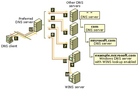 Dns Server Address Lookup Domain Name System Who Actually Quot Recurses Quot In A Recursive Dns Lookup Server Fault
