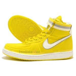 Shoes Yellow Shoes Nike Vandal High Supreme Vintage 325317 700