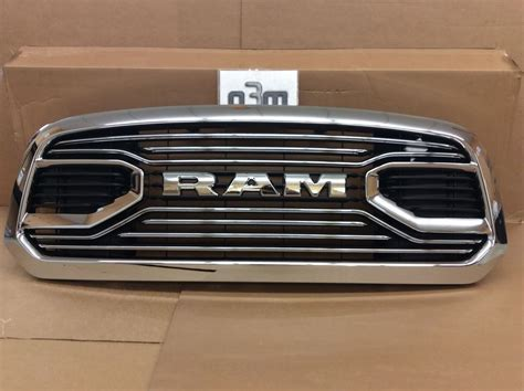 dodge grill 2016 dodge ram 1500 front chrome grille fits laramie
