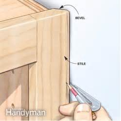 Kitchen Shelves Instead Of Cabinets Shortcuts For Custom Built Cabinets The Family Handyman