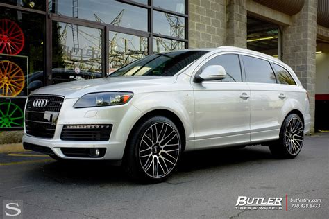 Audi Felgen Schwarz by Q7 Savini Wheels