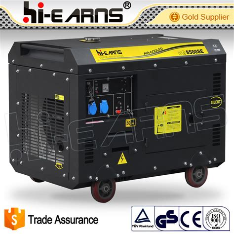 china 7kw home use silent diesel generator set price