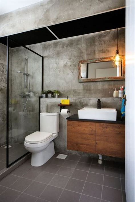 33 Industrial Bathroom Decor Ideas Comfydwelling Com | 33 industrial bathroom decor ideas comfydwelling com