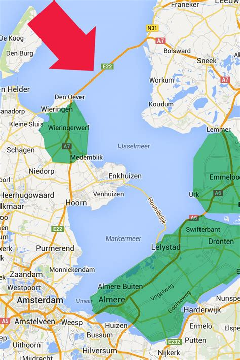 netherlands map reclaimed land blogography