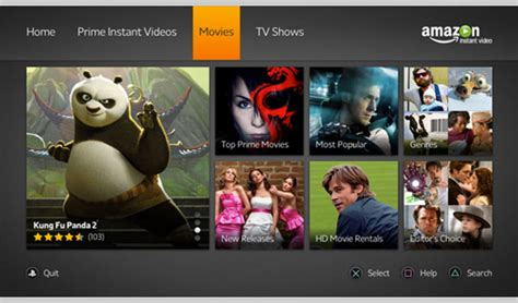 amazon prime app express delivered straight to ps3 amazon instant video app arrives on ps3 consoles video