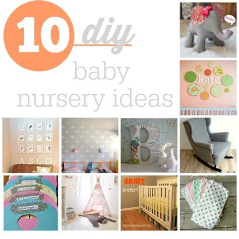 diy crafts for baby top 10 diy baby nursery ideas southern savers