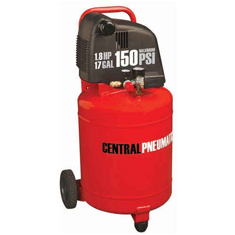 17 gal 1 8 hp 150 psi oilless air compressor