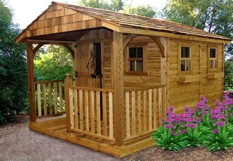 Outdoor Living Sheds by Outdoor Living Cedar Sheds Shed Town Usa