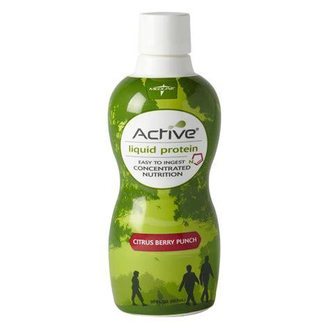 protein x liquid medline active liquid protein nutritional supplement