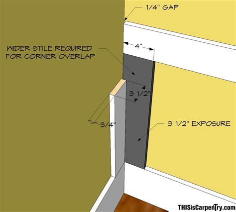 Wainscoting Spacing by Laying Out Wainscoting With Buildcalc Thisiscarpentry