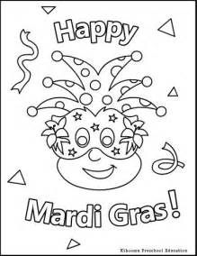 mardi gras for kids happy mardi gras coloring page for
