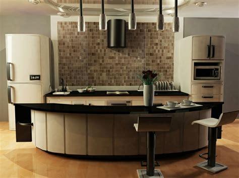 Island Peninsula Kitchen cocinas modernas con isla 100 ideas impresionantes